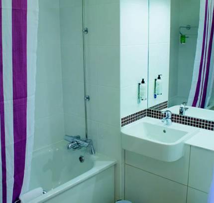 Modular Bathroom Pod in Premier Inn, Ealing