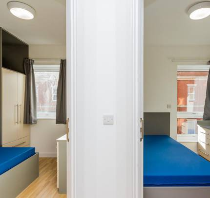 Rooms at Lincoln Student Accommodation Scheme