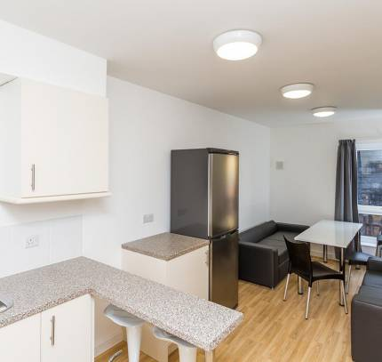 Communal Area at Lincoln Student Accommodation Scheme
