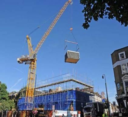 Hammersmith Modular Apart Hotel