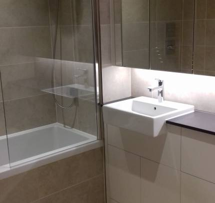 En suite in Room Module Apartment - Greenwich Residential Modular Development