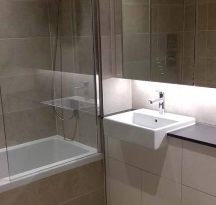 Bathroom in Room Module Apartment