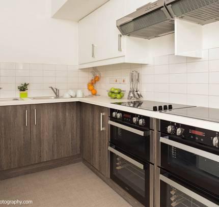 Modular student kitchen - Bath Modular student accommodation