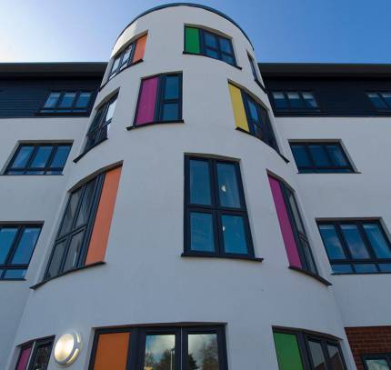 Broomfield Care Home - LSF Facade & LSF Structure