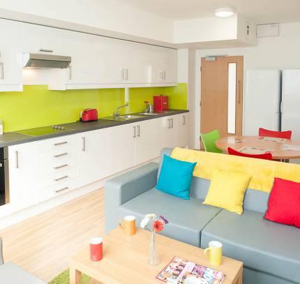 Colchester student kitchen room pod
