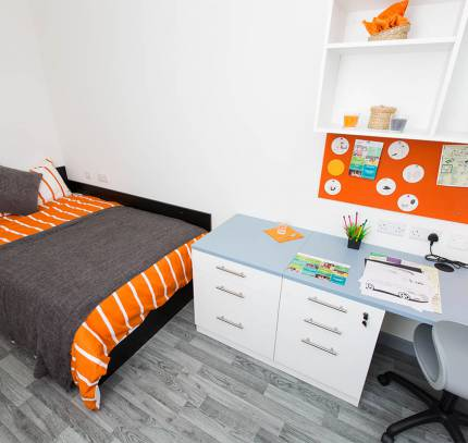 Colchester Student Modular Accommodation - En-suite bedroom module