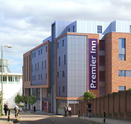 Premier Inn Exeter - Room Modules