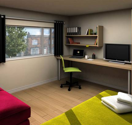 Student Room Pods - Student Accommodation Harbourne, Birmingham