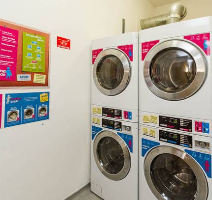 Launderette - Lincoln Student Accommodation Scheme