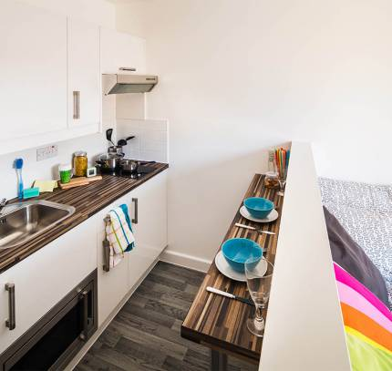 Student Room Module - Luton student accommodation