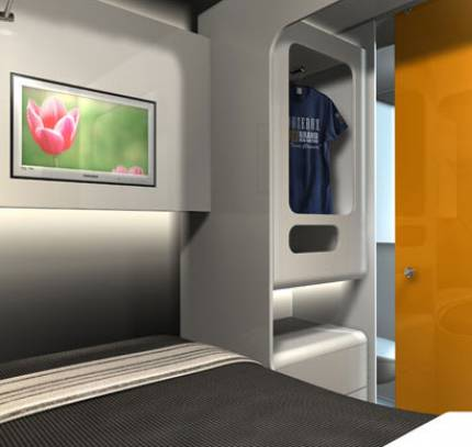 Portable Hotel Module - Snoozebox