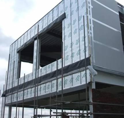 light steel frame building