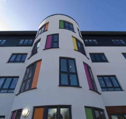 lsf facade care home