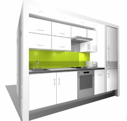 Modular kitchen co-pod