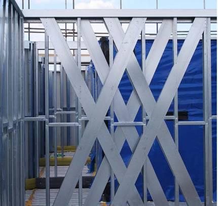 Light Steel Frame Facade
