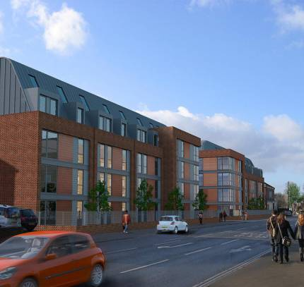 York student accommodation - room modules