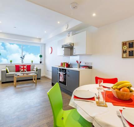 kitchen pod - modular student accommodation