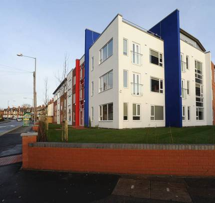 Modular Student Accommodation: Exterior