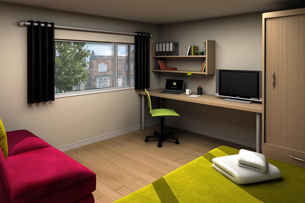 Student Accommodation Harbourne Modular Room Pods