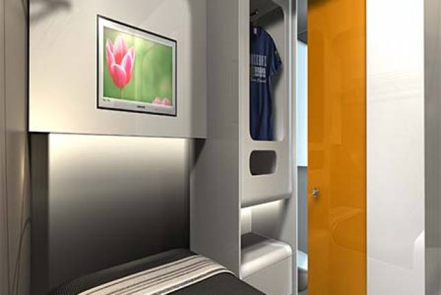 Snoozebox Room