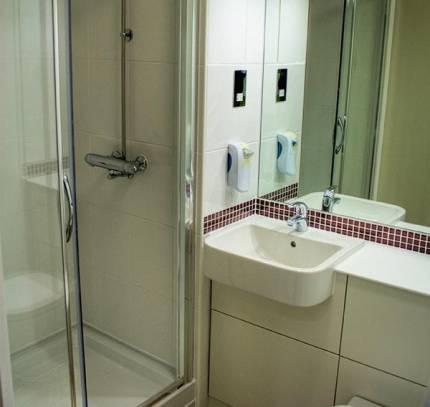 premier inn bathroom pod