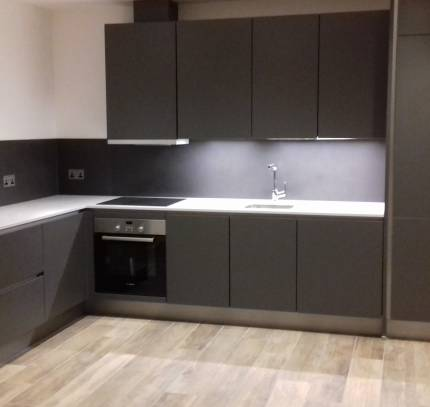 Kitchen in Room Module Apartment - Greenwich Residential Modular Development
