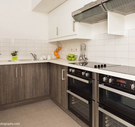Modular student kitchen - Bath Modular student accommodation
