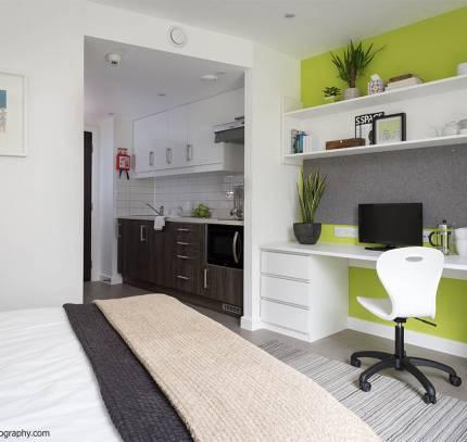 Studio student modular room