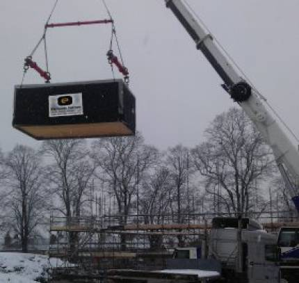 Modular Manufacturing in the Snow