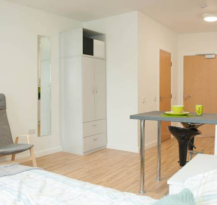 Studio Room Module - Colchester Student Accommodation