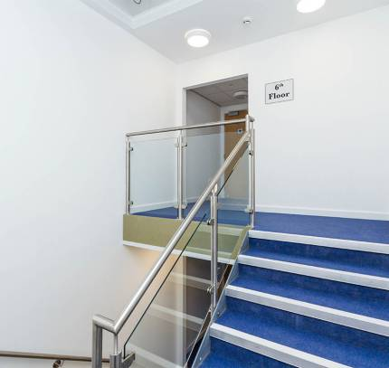 Stairwells - Lincoln Student Accommodation Scheme