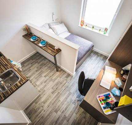 Luton Student Accommodation Studio