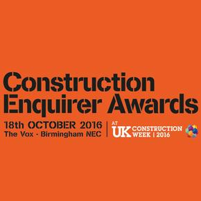 Construction Enquirer Award