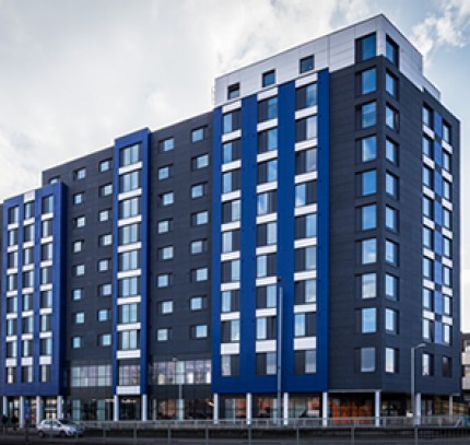 Luton student accommodation - room modules
