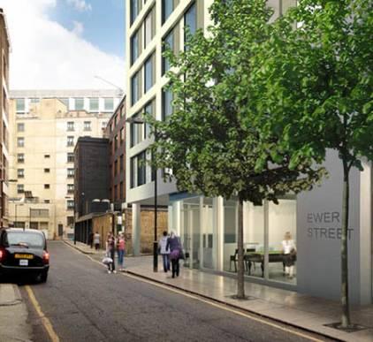 Ewer Street Modular Student Accommodation