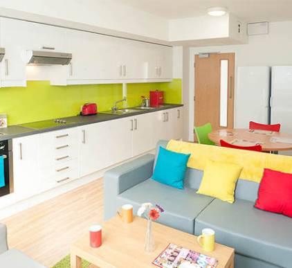Modular Student Kitchen Pod Colchester
