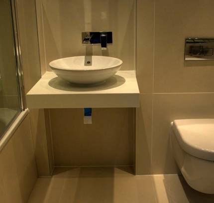 Bathroom Pod premier inn