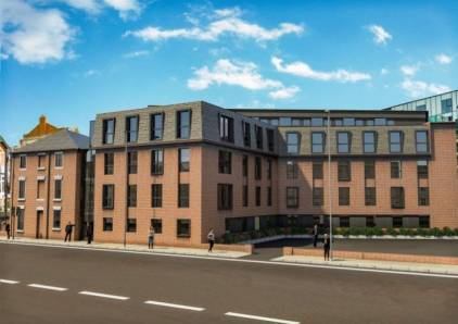 Modular student accommodation