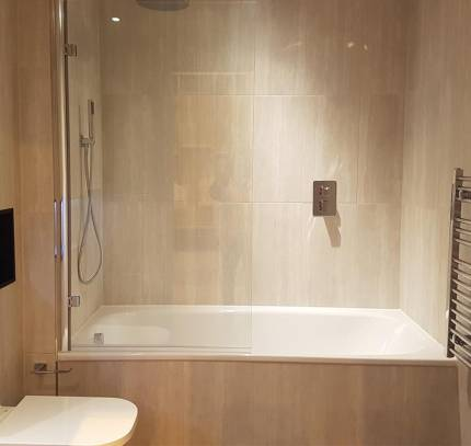 Circle Square residential development - bath shower bathroom pod