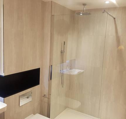 Circle Square residential development - shower bathroom pod