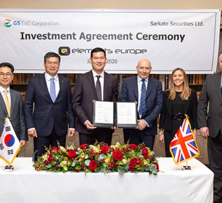 investment signing ceremony
