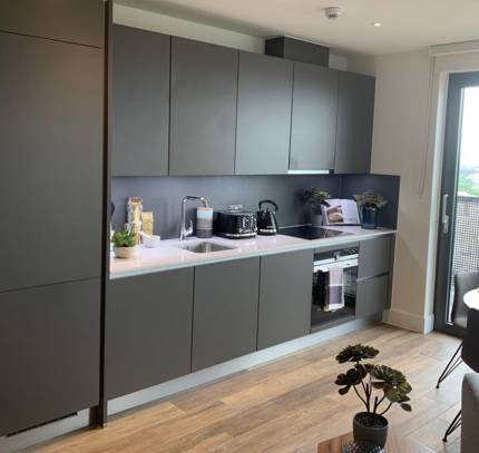Kitchen - Greenwich modular residential development